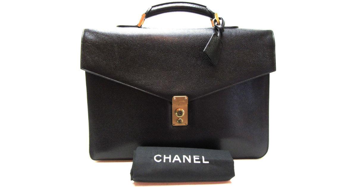 5e895f25fa68 Lyst - Chanel Unisex Briefcase