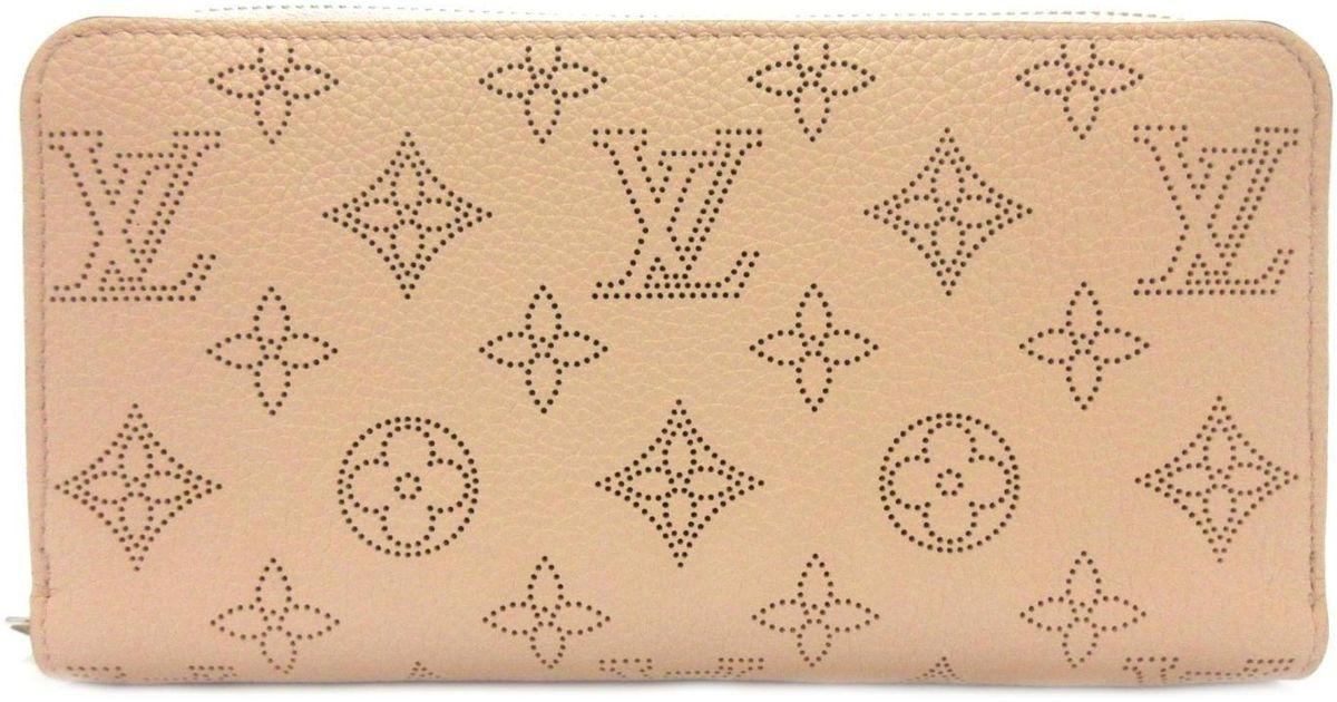 size 40 dac3b 61a5d Louis Vuitton Long Wallet Mahina Leather Magnolia Pink M61868