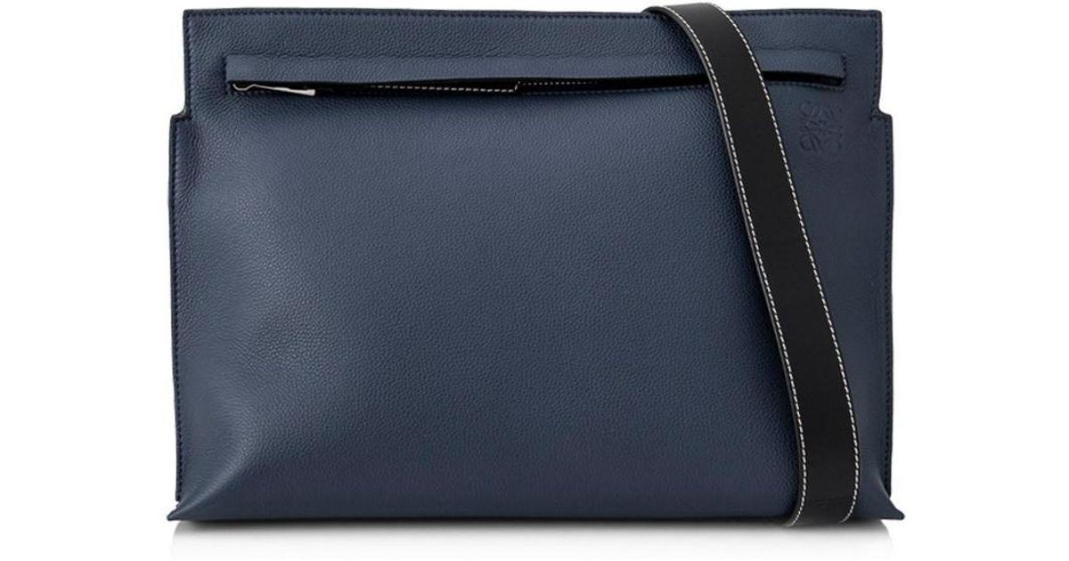 100e9455b327 Lyst - Loewe T Messenger Bag in Blue for Men