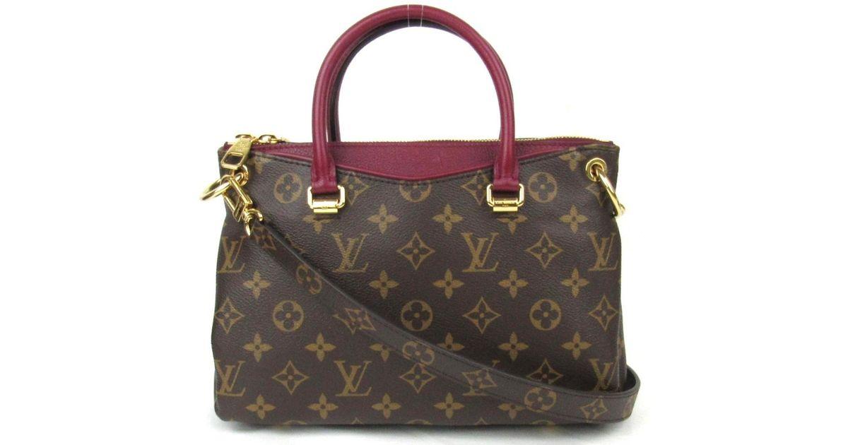 e51fd6f6fa Louis Vuitton Brown Louisvuitton Pallas Bb 2way Sholuderbag Handbag  Monogram Canvas Raisin M41825
