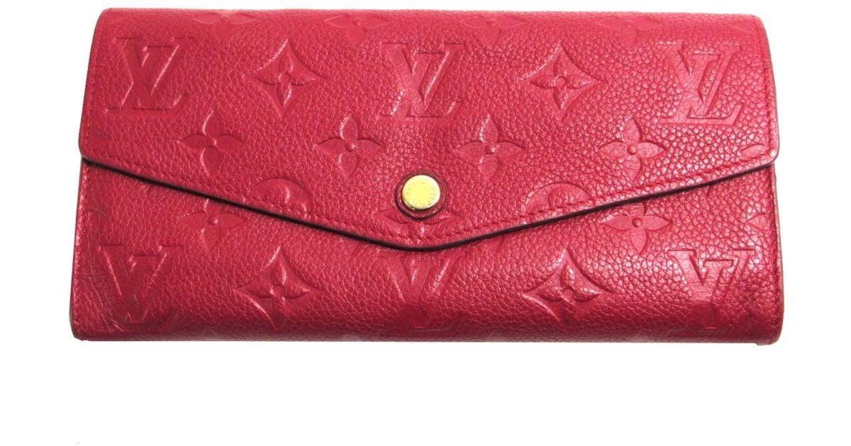 648a10833ec9 Louis Vuitton Red Wallet - Best Photo Wallet Justiceforkenny.Org