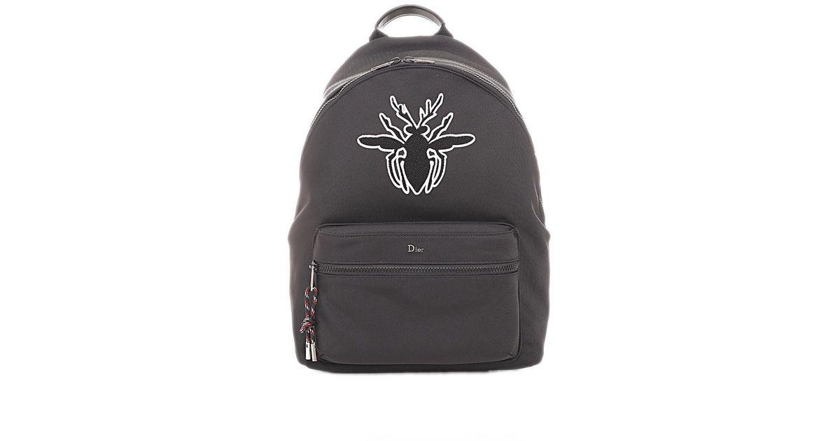 c2fe29485b9d Lyst - Dior Homme Bee Backpack in Black for Men
