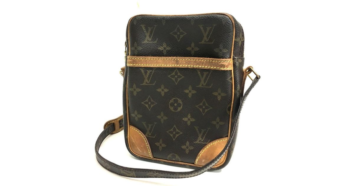 bf71a2f495fe Lyst - Louis Vuitton Monogram Danube Men s Women s Shoulder Bag  Monogramcanvas M45266 in Brown