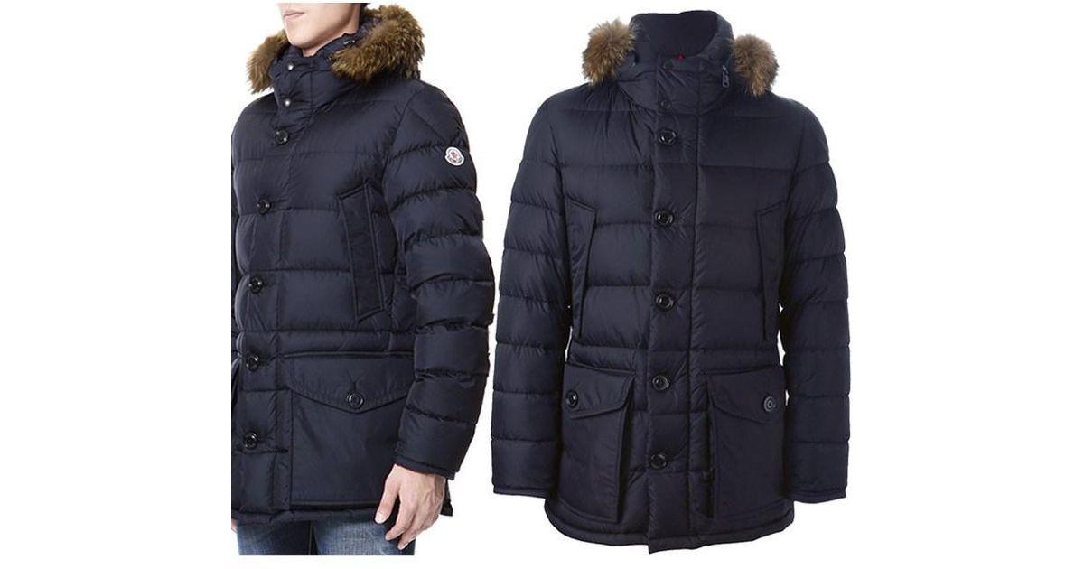 7ee635be3 Moncler Black Men's Cluny Padded Jacket for men