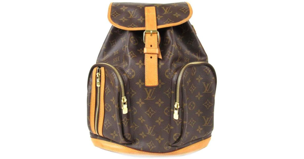 7178d3f97e17 Lyst - Louis Vuitton Sac A Dos Bosphore Backpack Rucksuck M40107 Monogram  Canvas Brown in Brown