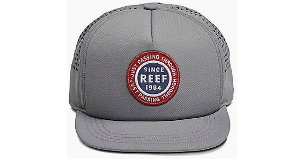 Lyst - Reef Trek Hat in Gray for Men aca34540cc93