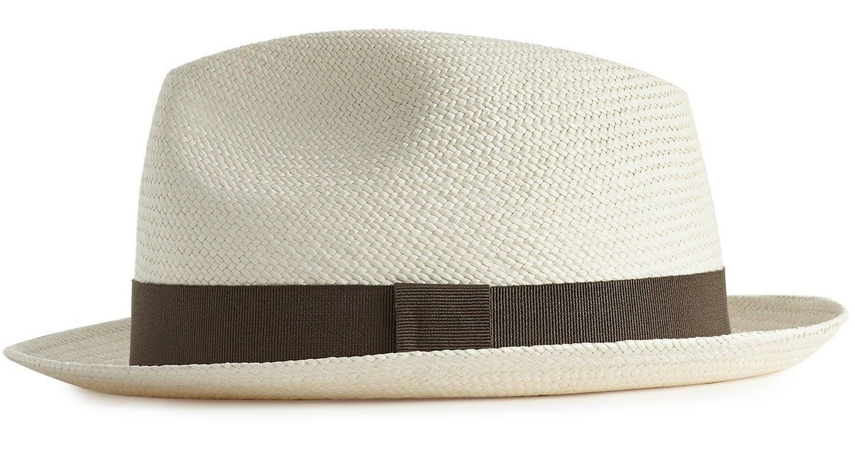 8d8c094c Reiss Whitney - Trilby in Natural for Men - Lyst