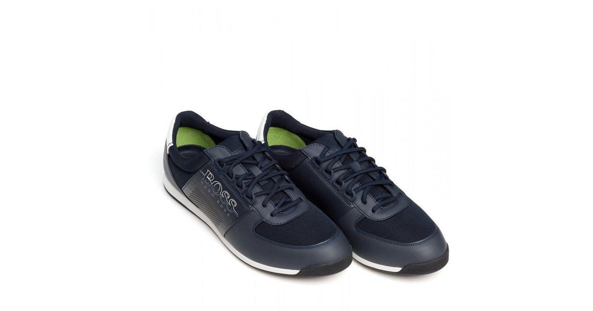 Mens Maze_lowp_neo2 Chaussures Au Dessus Bas, Boss Hugo Noir