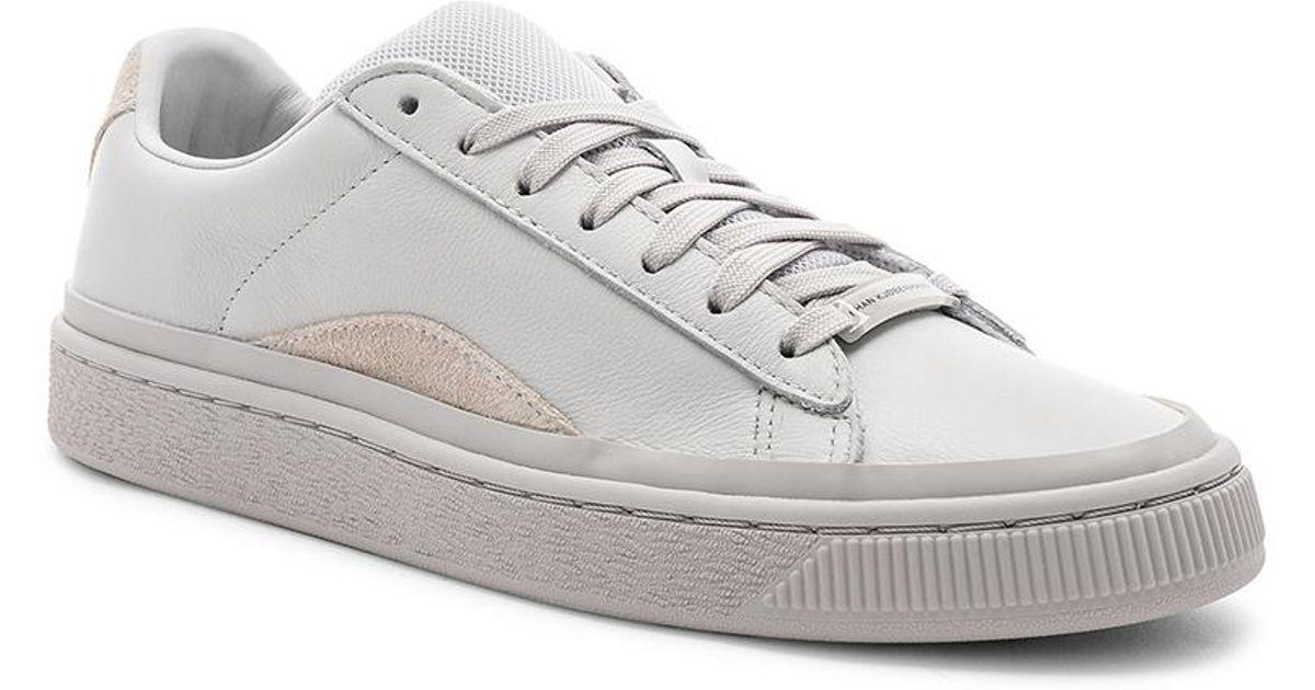 low priced 27de1 aa7e4 Puma Select X Han Kjobenhavn Basket In Light Gray for men