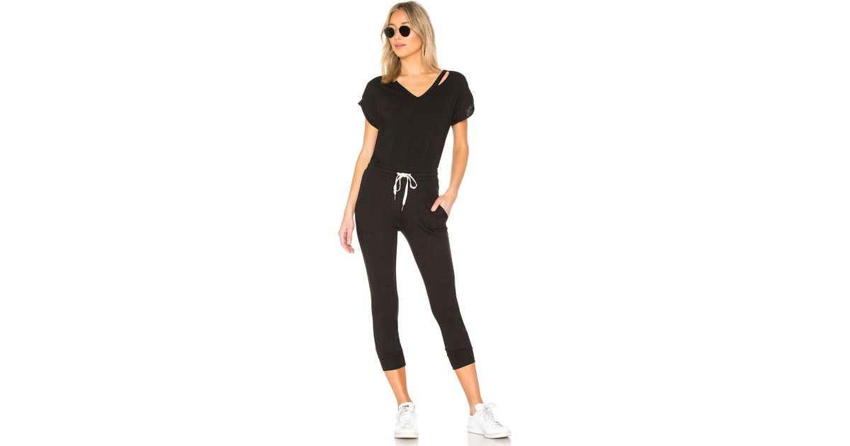 fdf6ea4e55b5 Lyst - n PHILANTHROPY Space Jumpsuit in Black - Save 41%