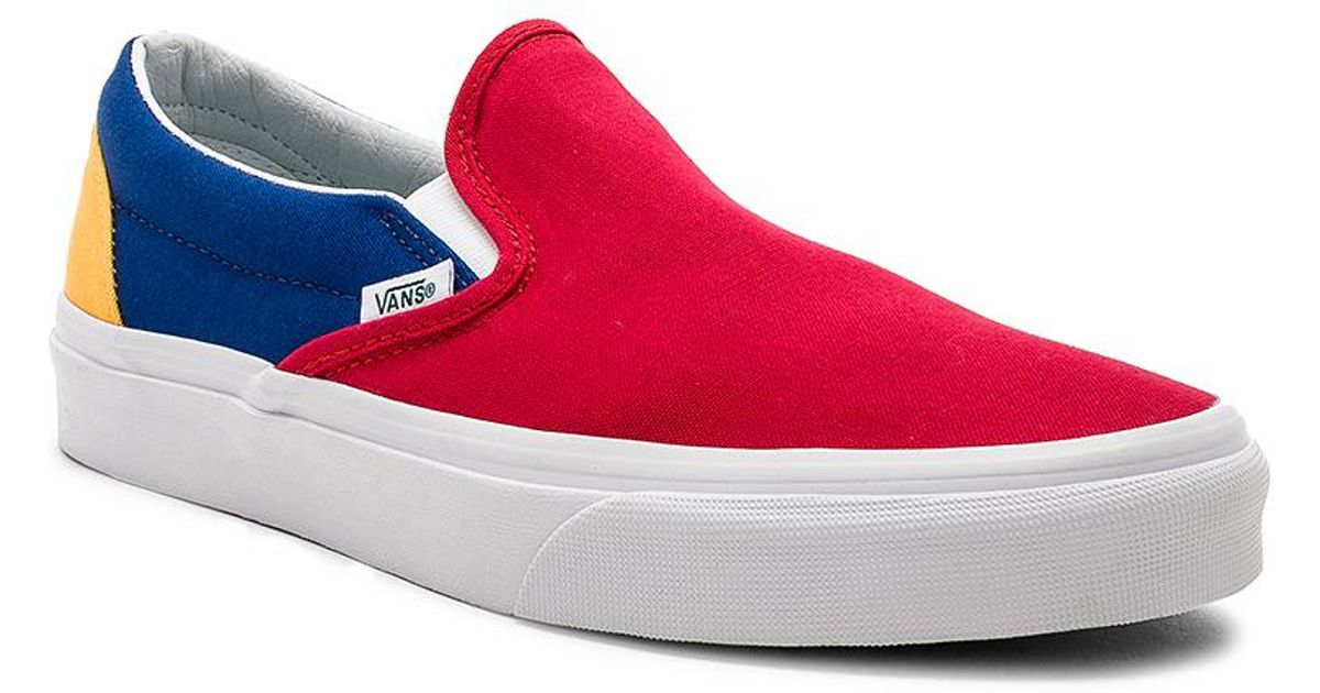 beautiful design enjoy complimentary shipping sleek Vans Multicolor Yacht Club Classic Slip-on