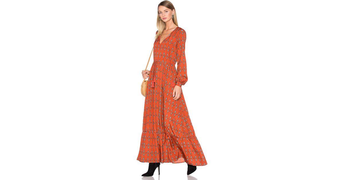 2e1f32bb1493 House of Harlow 1960 X Revolve Janella Maxi Dress - Lyst