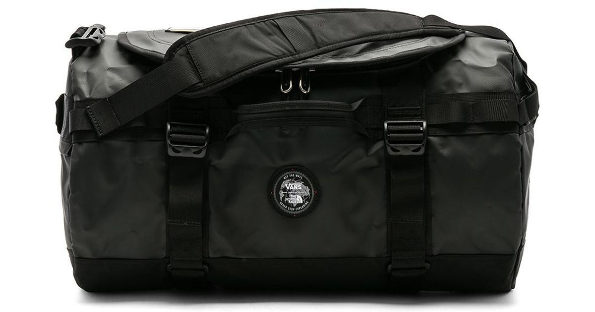 7696e58c36 Lyst - Vans X The North Face Base Camp Duffel in Black