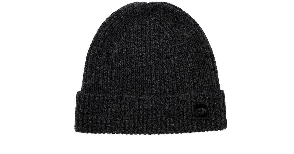 760e879b The North Face Cryos Cashmere Beanie In Black. in Black - Lyst