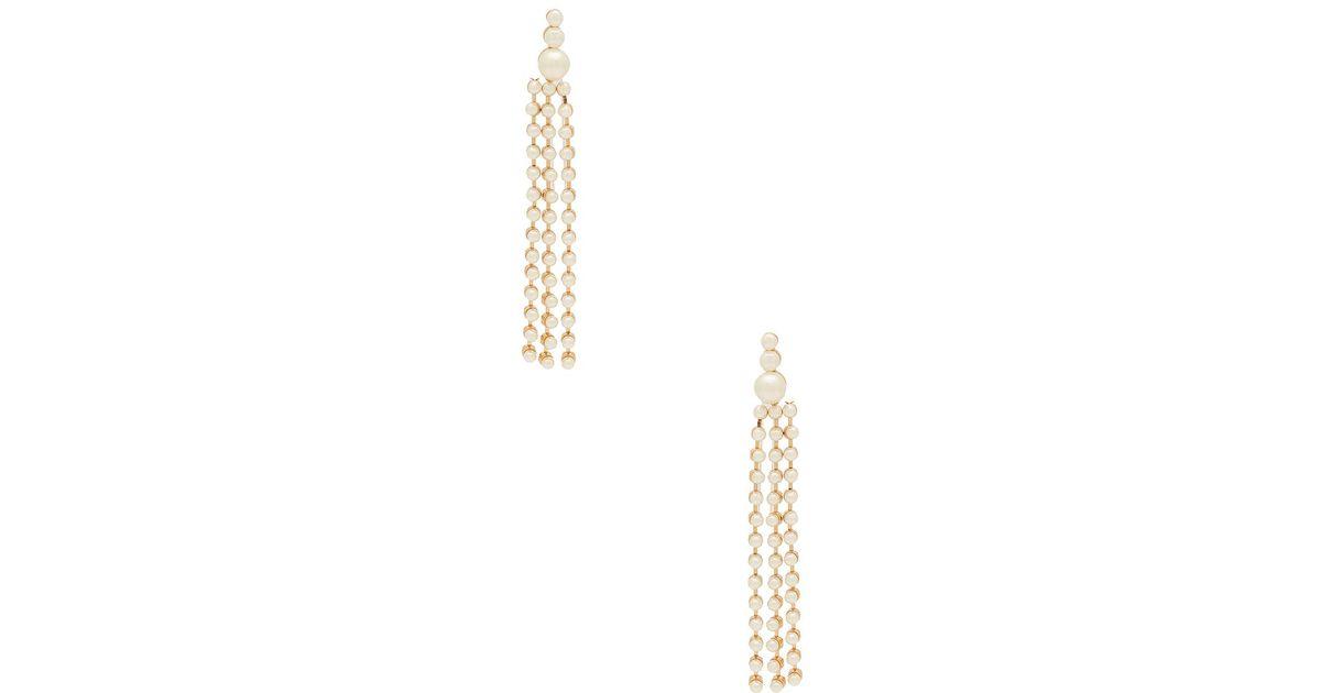 Pearla Earrings in Metallic Gold 8 Other Reasons 1Mf0LmM0