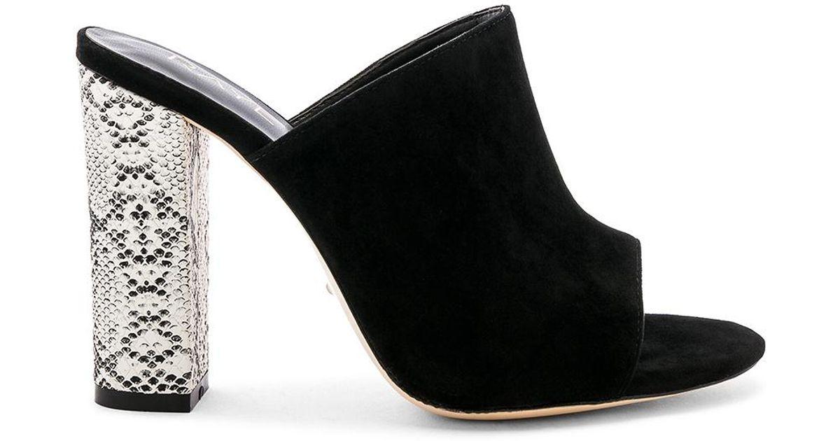 0edd3ebc12c Lyst - RAYE Boa Heel in Black