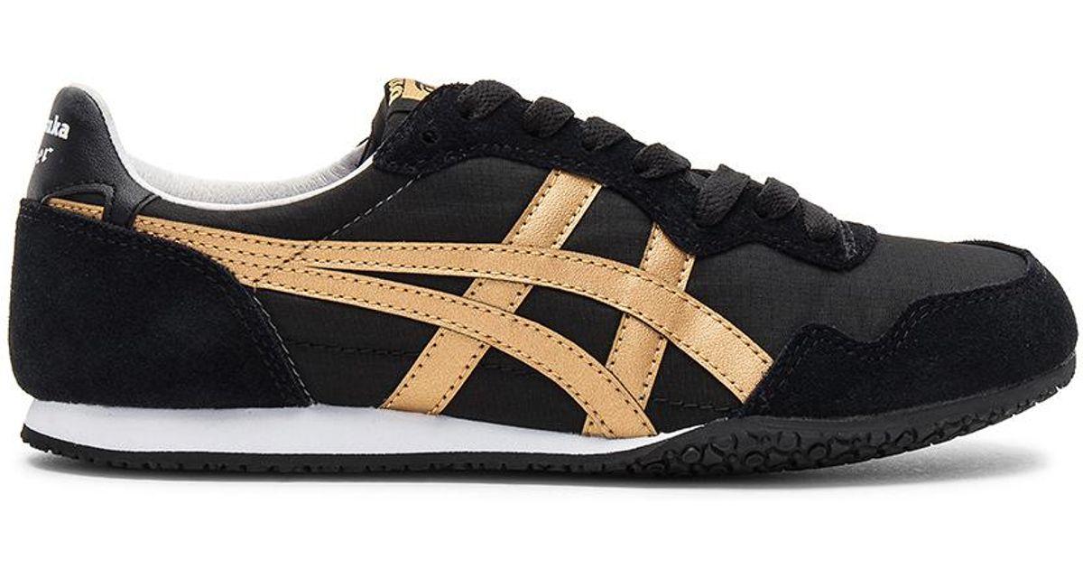 reputable site e5cc7 c8d36 Onitsuka Tiger Black Serrano Sneaker