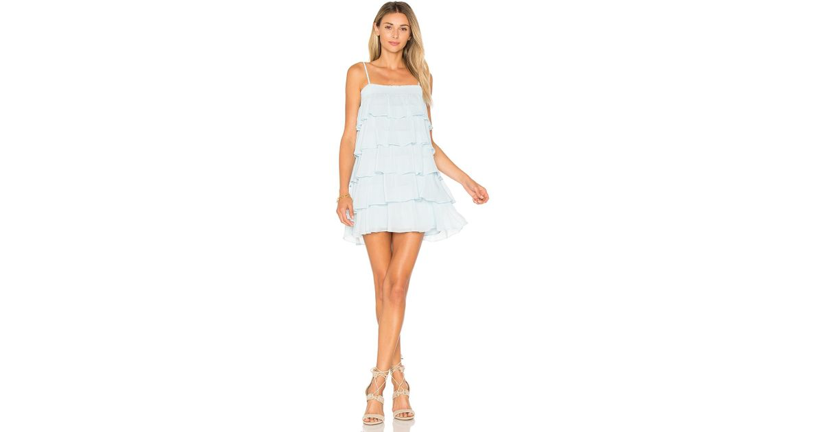 bc86dde8c1a2 Lovers + Friends Liv Dress in Blue - Lyst