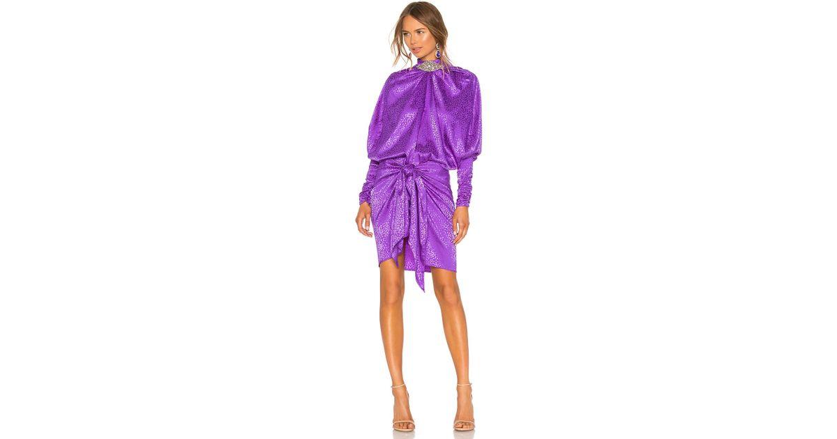 Dodo Bar Or Ida Dress.Dodo Bar Or Purple Ida Dress
