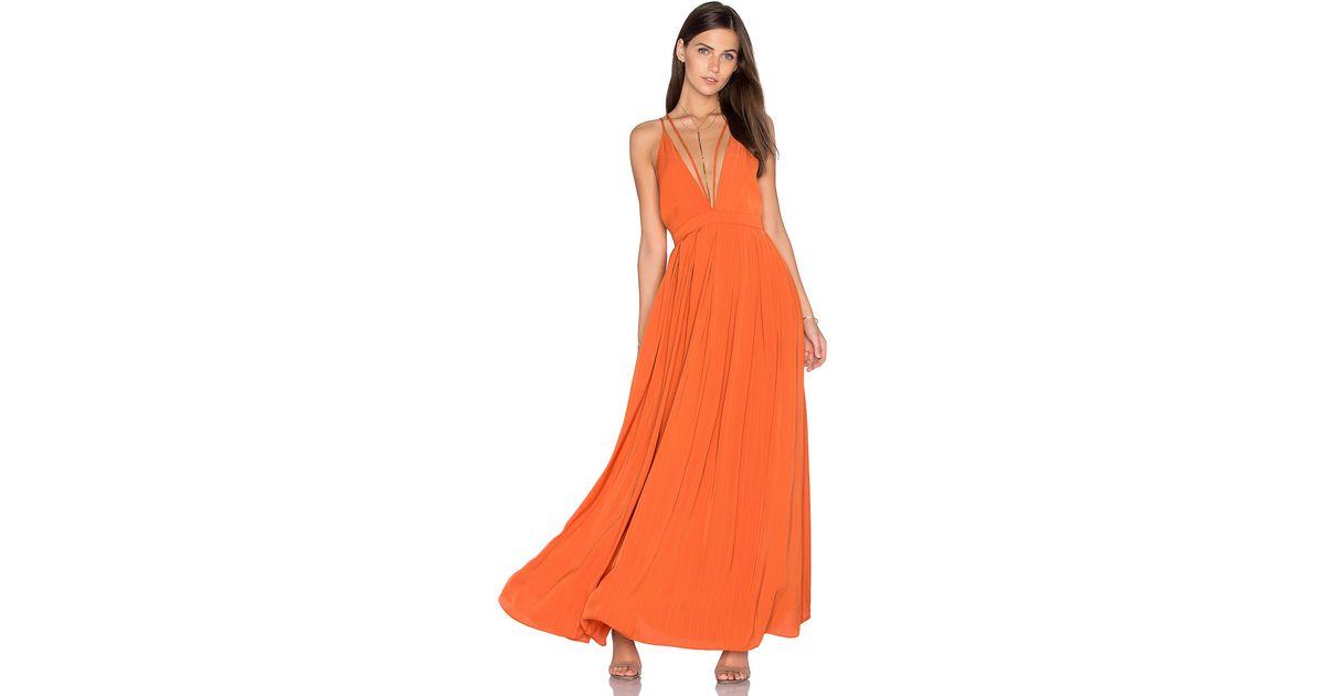 3c6a0e8afe Lyst - Lucy Paris Celine Maxi Dress