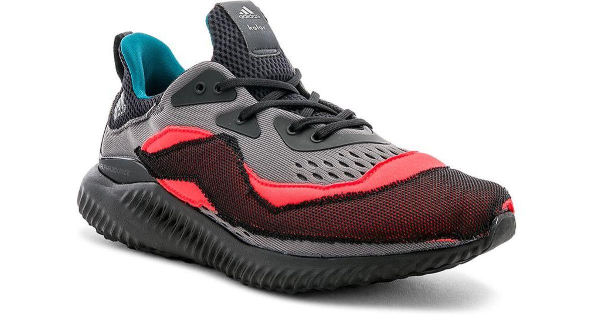 8debe0cff Lyst - adidas Originals Kolor X Adidas Alpha Bounce in Red