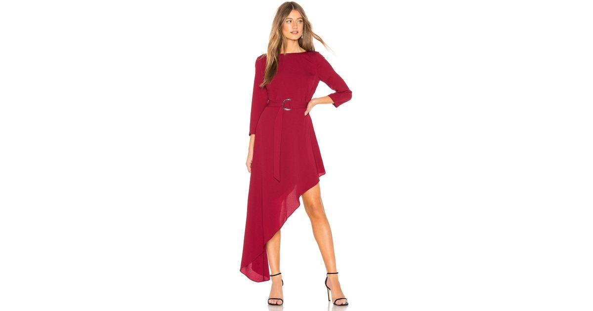 8368fc18eeb Donna Mizani Iva Dress in Red - Lyst