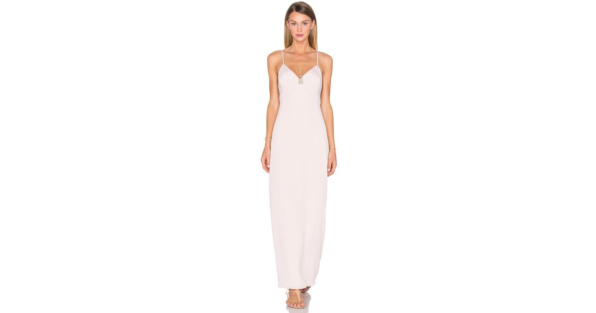 e070c6e57c5a House of Harlow 1960 X Revolve Gina Crepe Slip Dress in Pink - Lyst