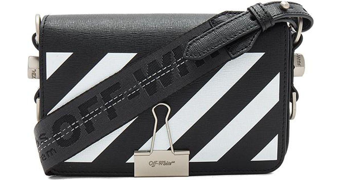 Black Mini Padded Flap Bag Off-white s0GSRp3Rw5