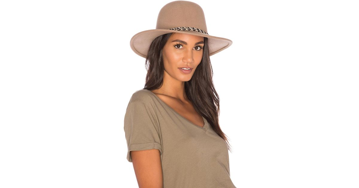 440b57827fece Lyst - Brixton Stills Hat in Brown