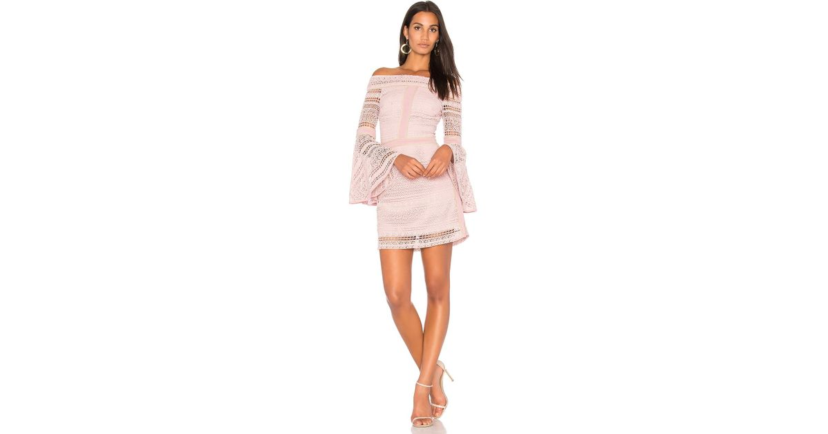 We Are Kindred Daisy Lace Dress In Pink Lyst