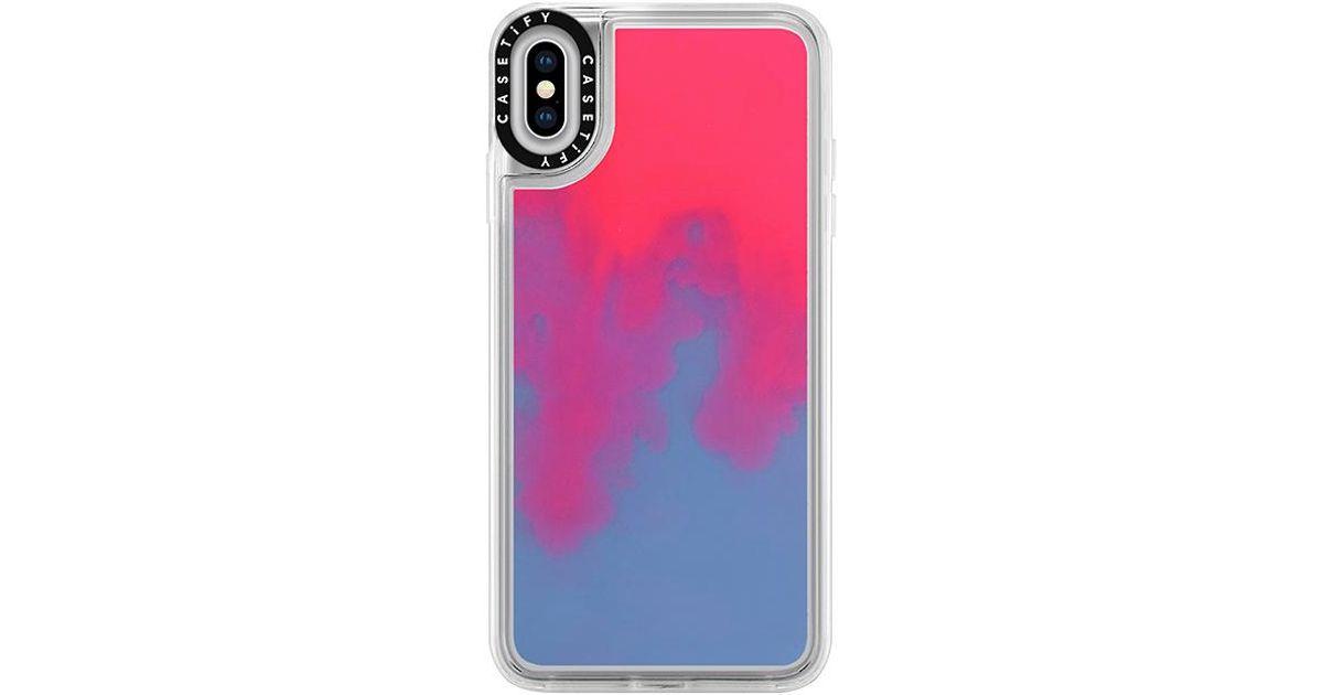 neon iphone xs max case