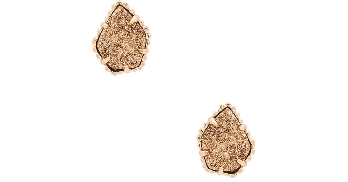 Kendra Scott Tessa Earrings in Metallic Copper p6bW5l
