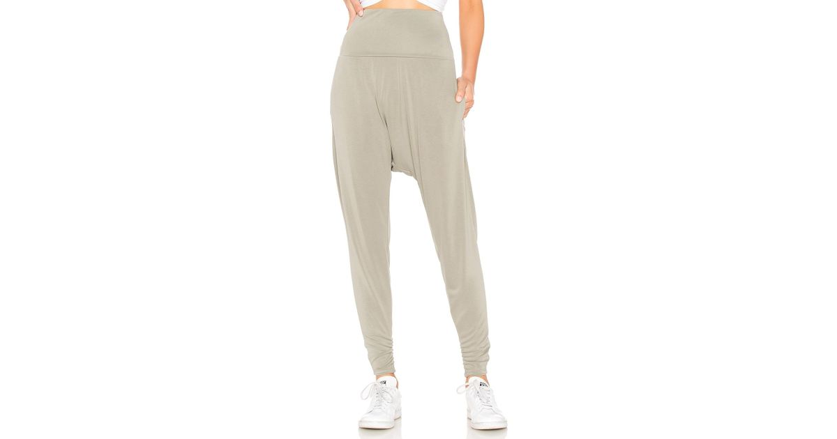 official images big discount unique design Free People Movement Echo Harem Pant in Green - Lyst