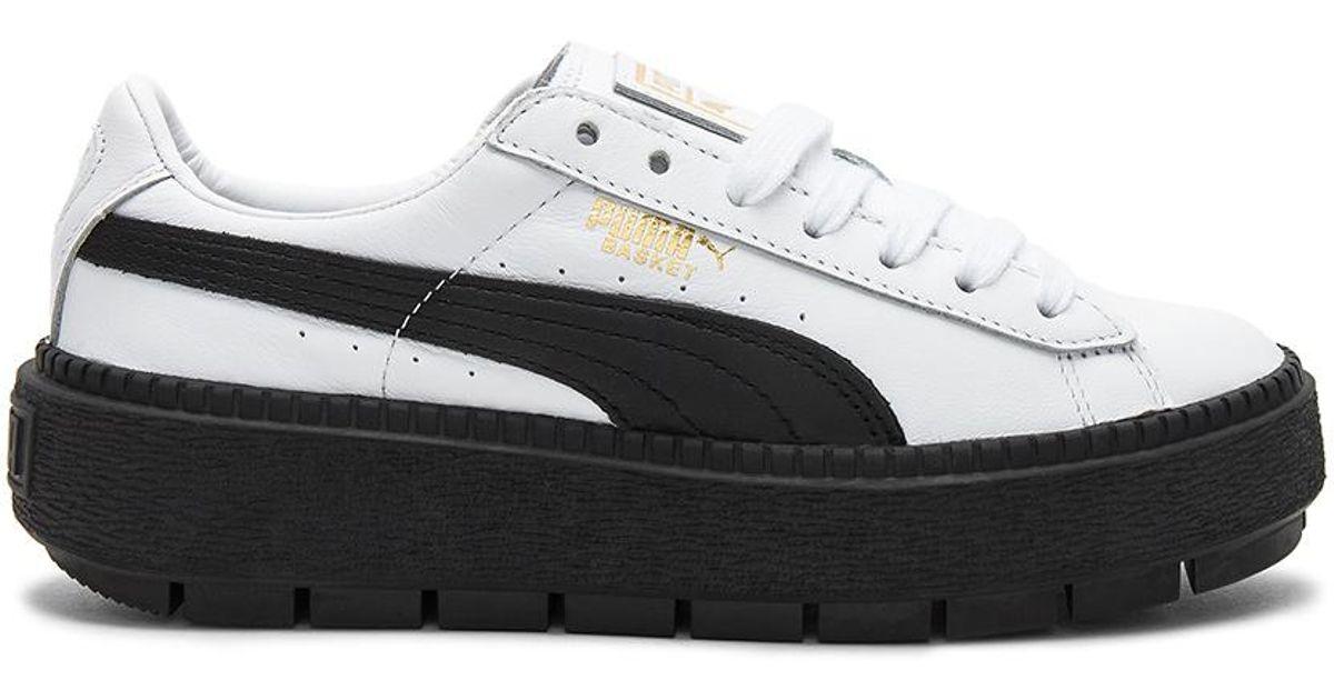 the best attitude d727c 9e232 PUMA Black Platform Trace L Sneaker