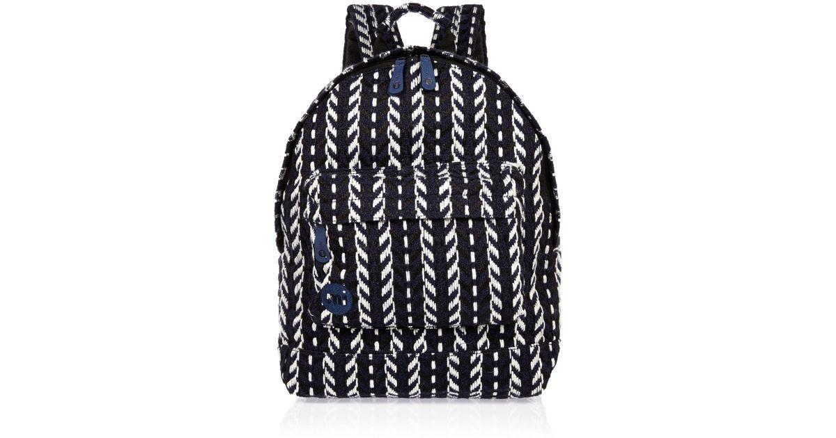 Lyst River Island Navy Mi Pac Folk Knit Backpack In Blue For Men