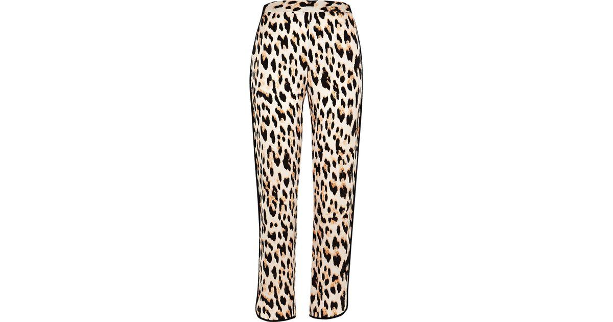 River Island Leopard Print Pyjama Shirt