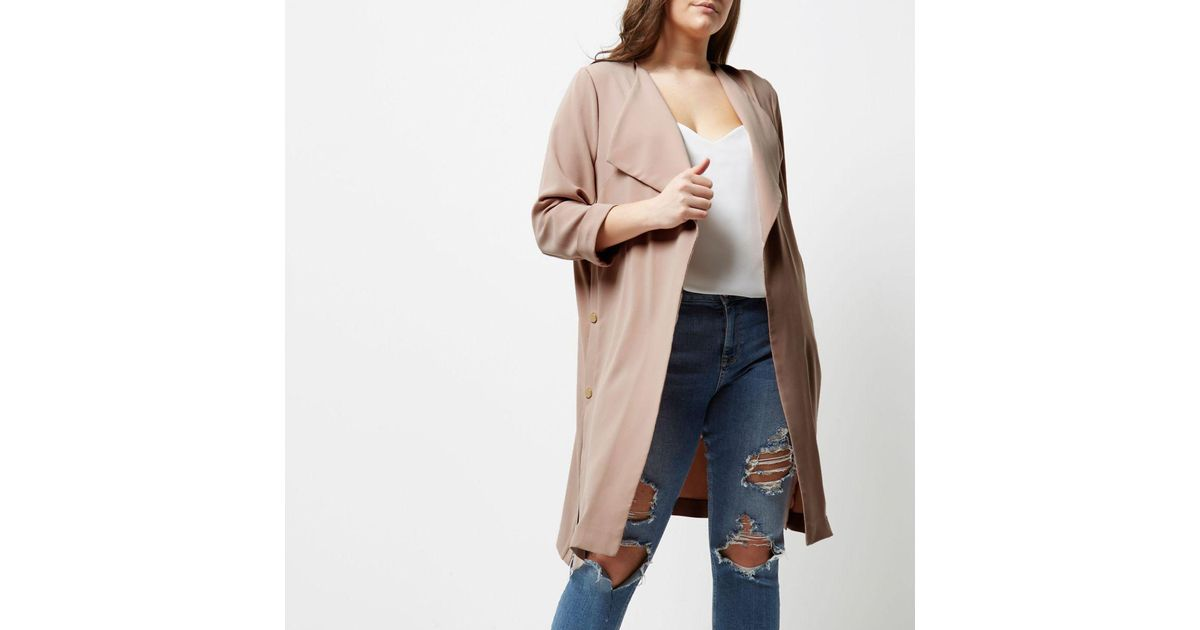 River Island Light Duster Men