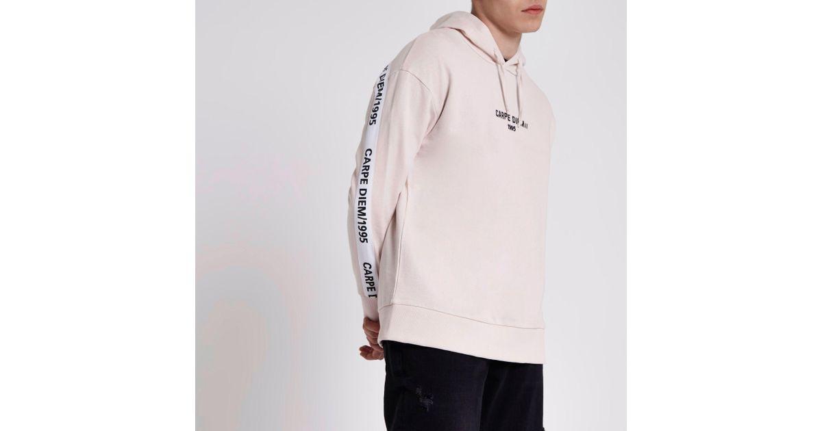 Diem Mens Heritage Hoodie Long Sleeve Hoody Hooded Jumper Top Clothing Wear