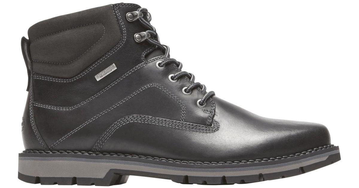 Rockport Leather Century Plain Toe Boot