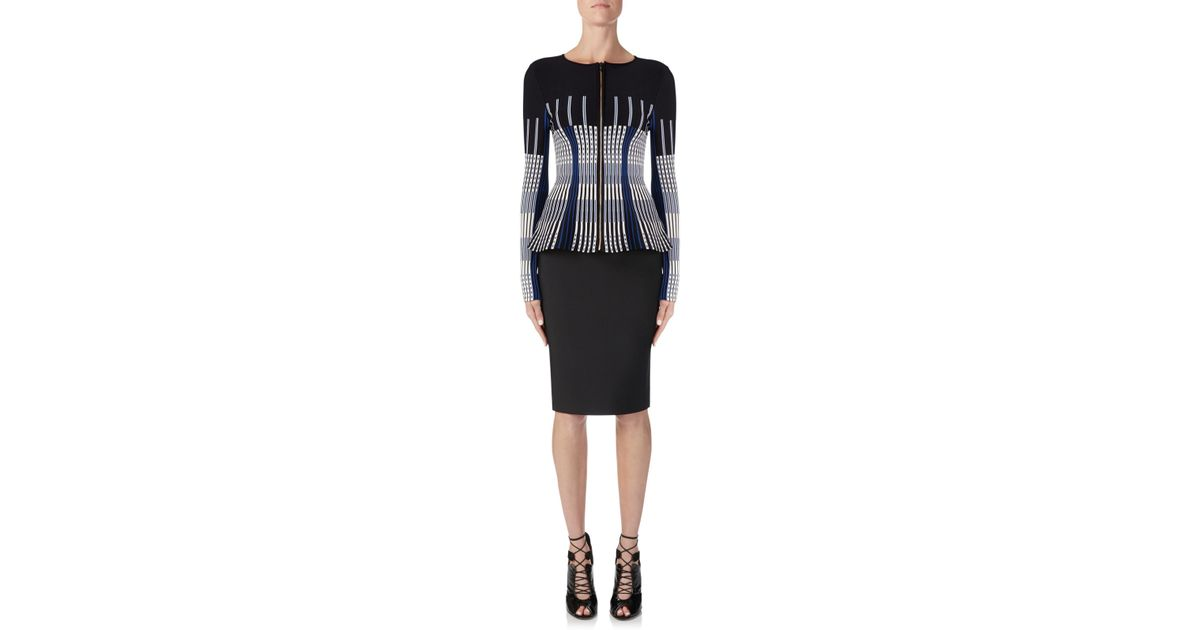 95565480b Roland Mouret May Skirt in Black - Lyst