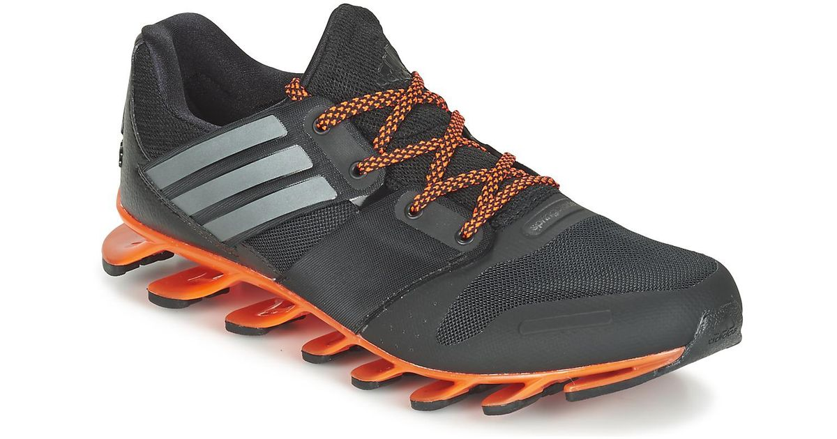 revendeur 5b728 04397 Adidas - Black Springblade Solyce Running Trainers for Men - Lyst