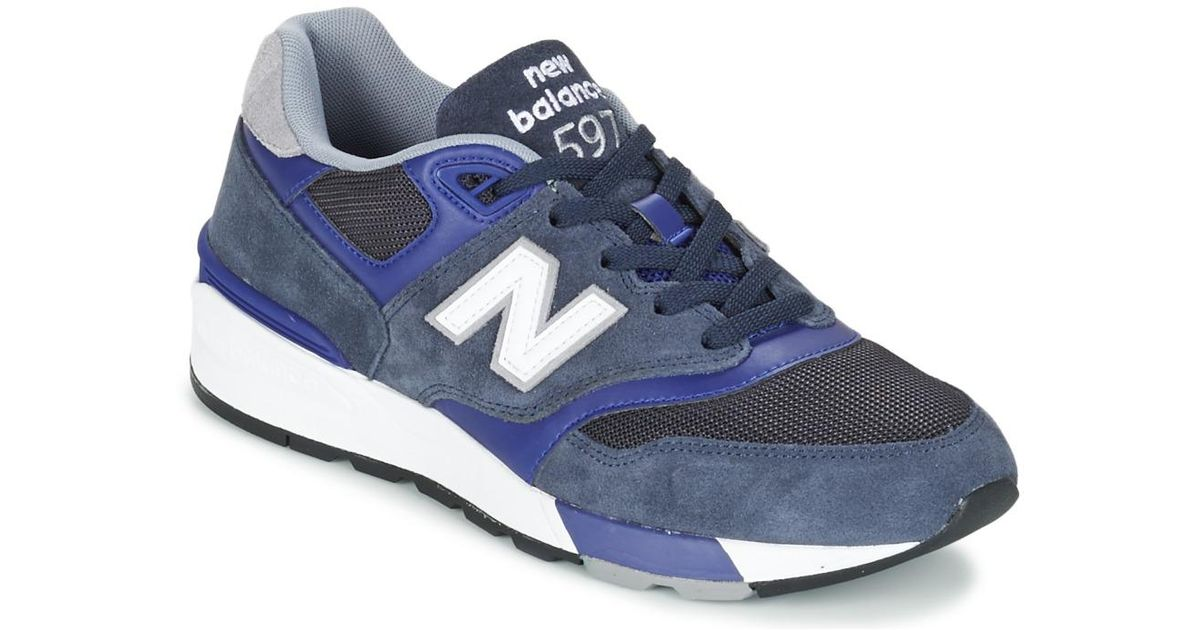 buy popular bc550 64cde New Balance - Blue Ml597 Shoes (trainers) for Men - Lyst