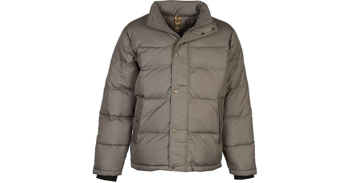 9295b9a2205 Timberland Goose Eye Mtn Jacket Jacket in Gray for Men - Lyst