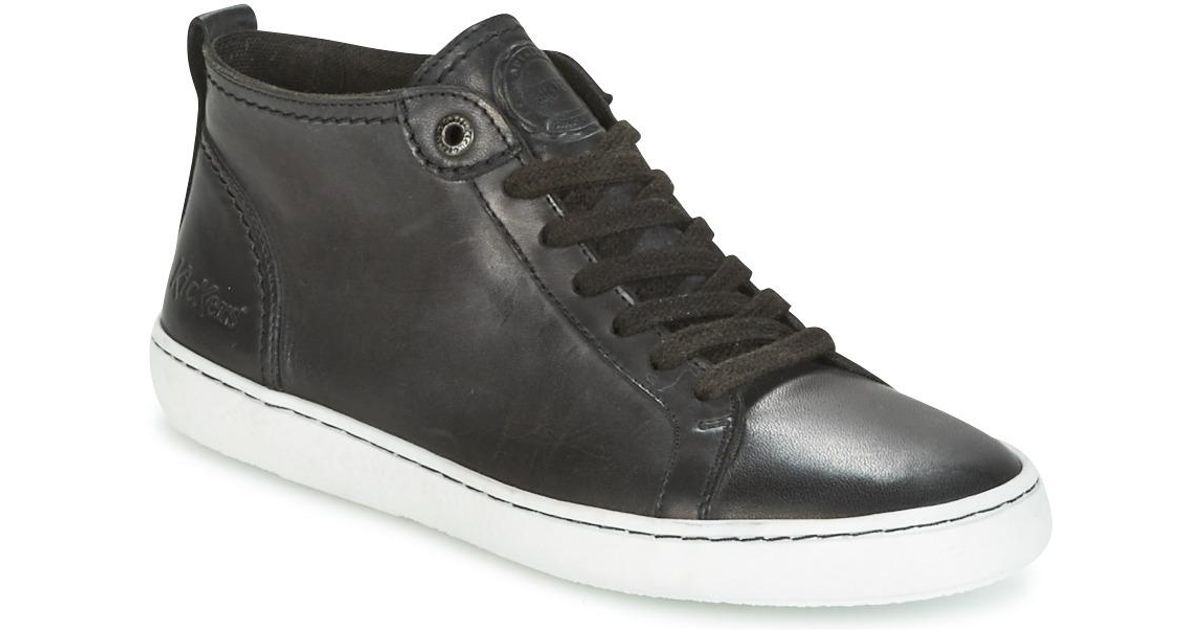 fda3f283 Kickers Review Shoes (trainers) in Black - Lyst