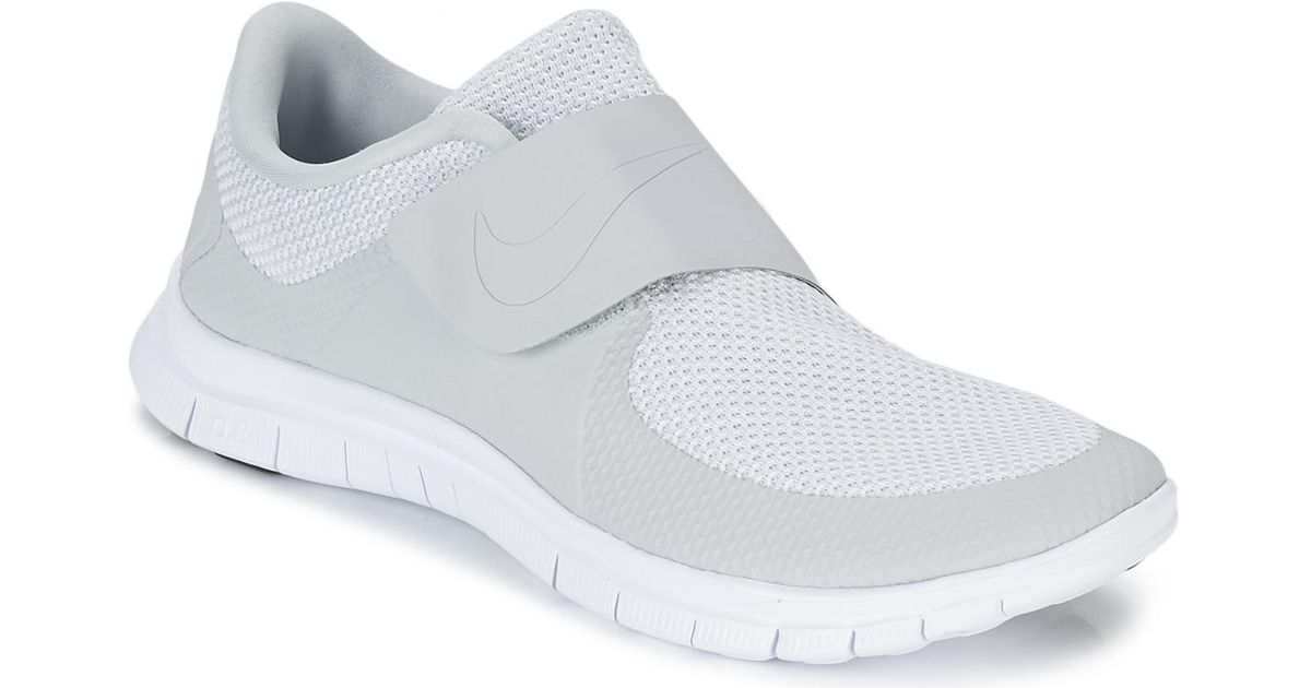 fccf440ed84202 Nike Free Socfly Shoes (trainers) in Gray for Men - Lyst