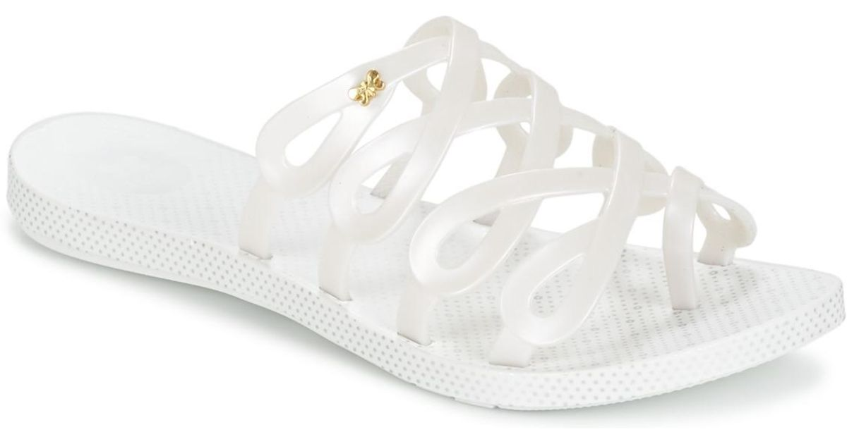 e7ae25bc4a Zaxy Infinity Flip Flops   Sandals (shoes) in White - Lyst