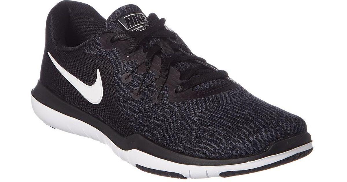 d3152c39e24 Nike - Black Women's Flex Supreme Tr 6 Training Shoe for Men - Lyst