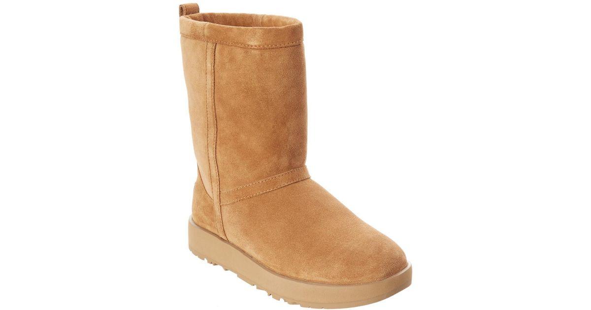 e6880348ea4 Ugg Brown Women's Classic Short Waterproof Suede Boot