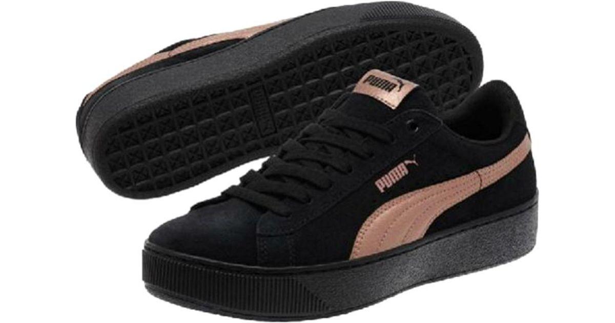 puma damen vikky platform rg sneaker