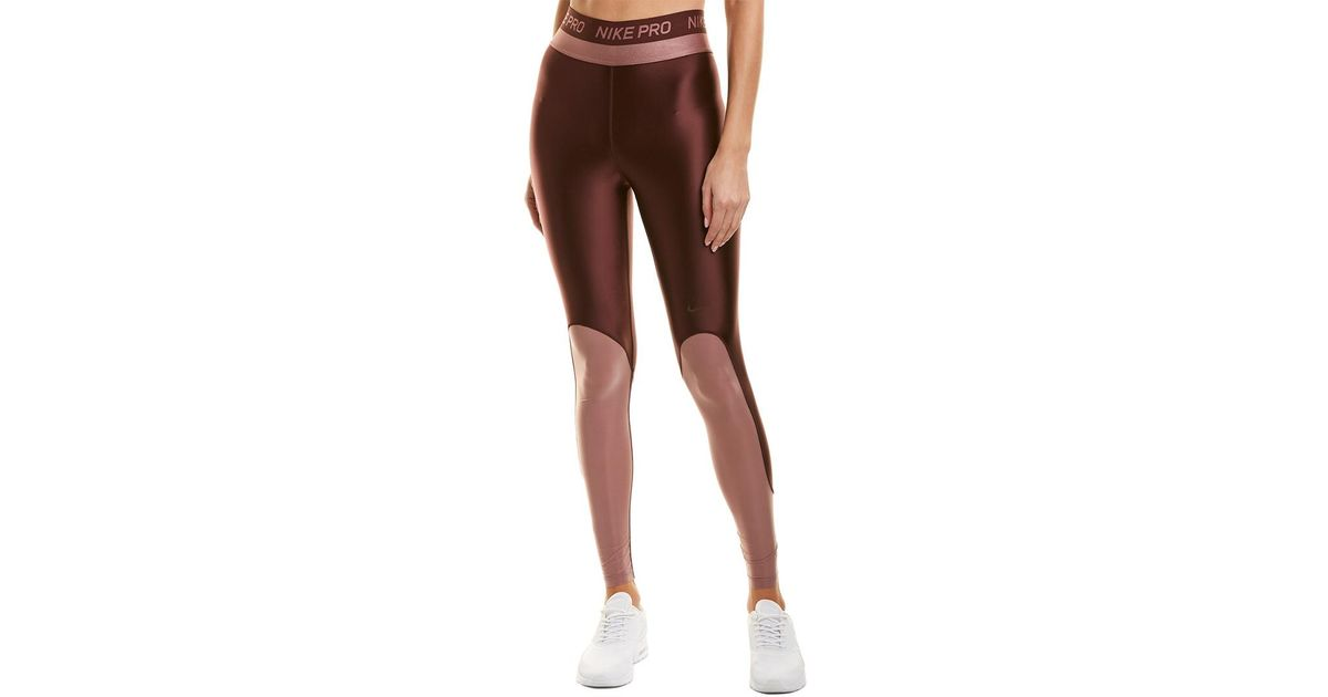 a47735477260 Nike Red Pro Hypercool Glamour Tight